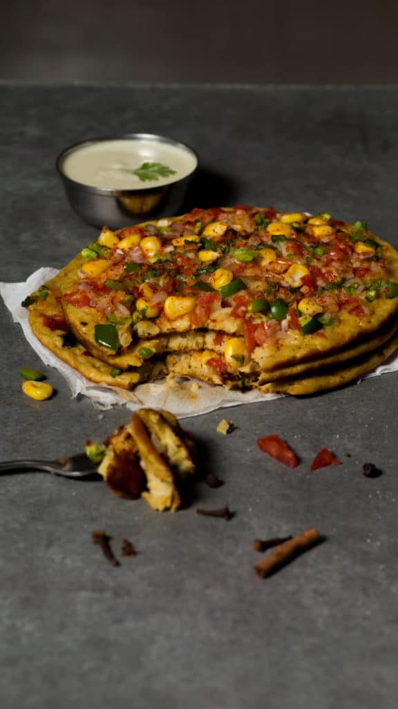wheat uttapam recipe