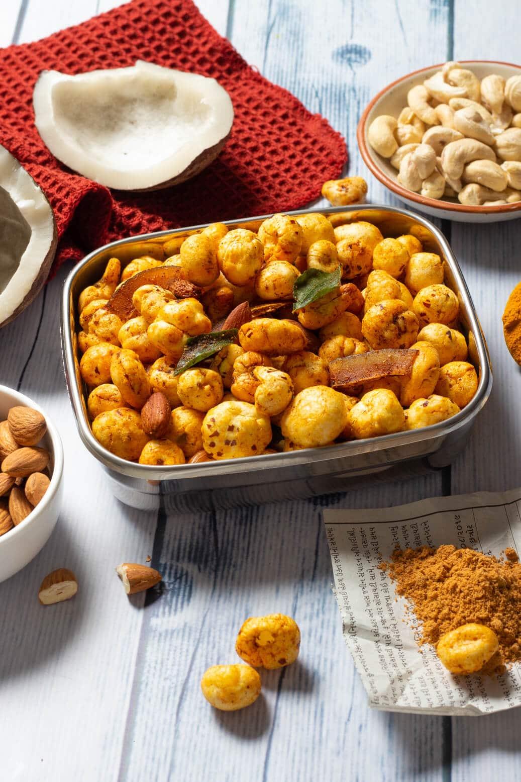 makhana chivda recipe