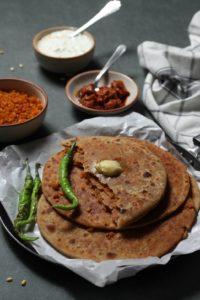 moong dal paratha recipe