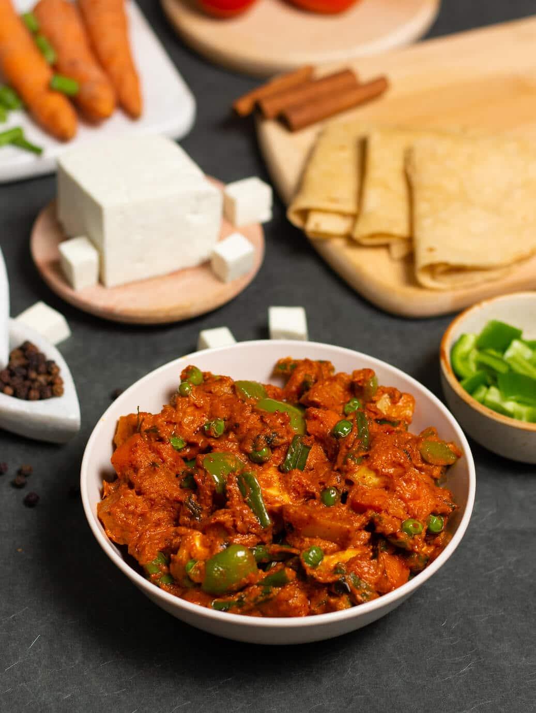 punjabi mix veg sabji recipe